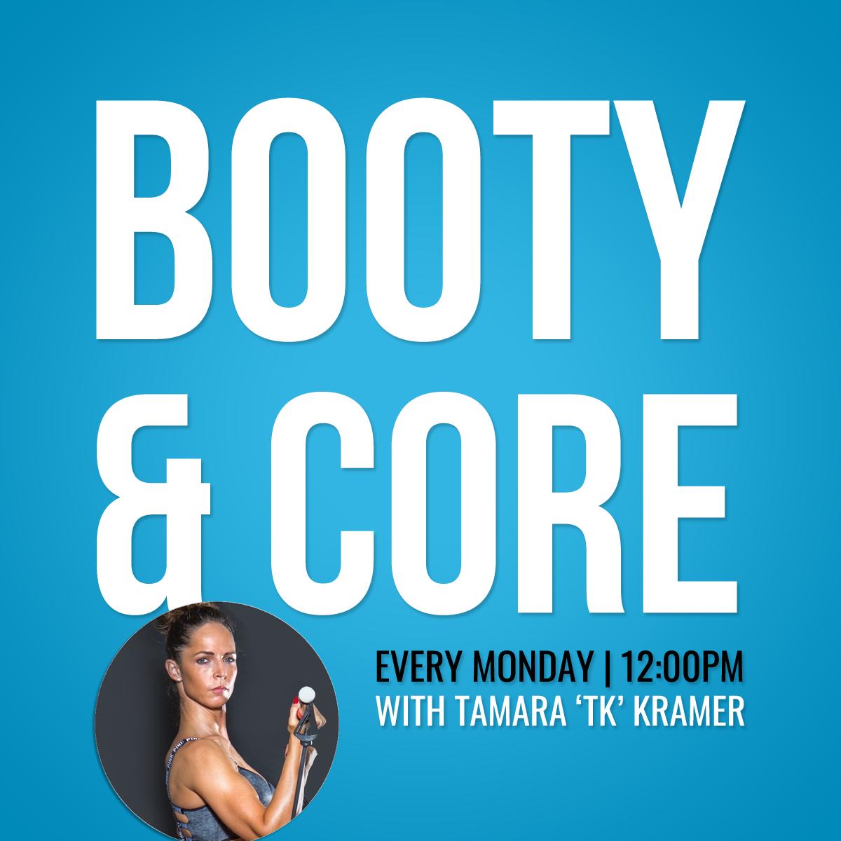 Monday 17th February: Booty & Core Class