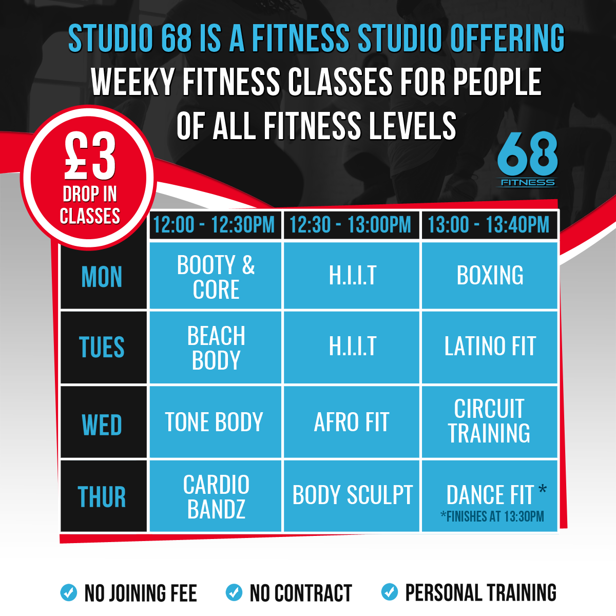 Read more about the article Thursday 13th February: Body Sculpt