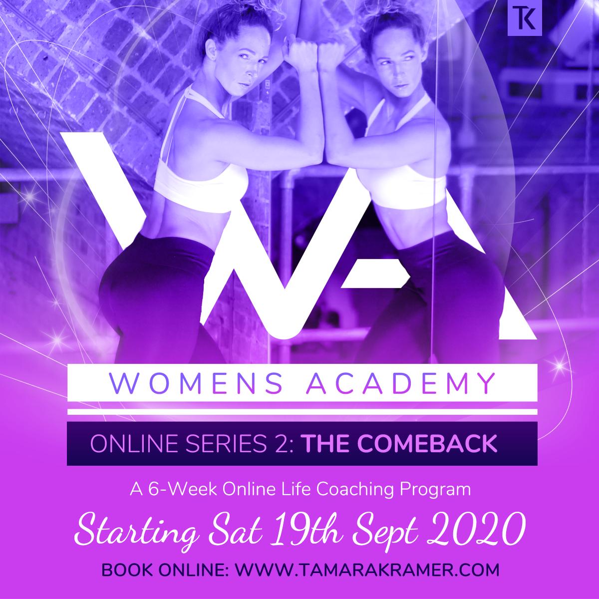Women's Academy Online Series 2