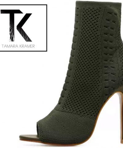Sock-in Ankle Boots